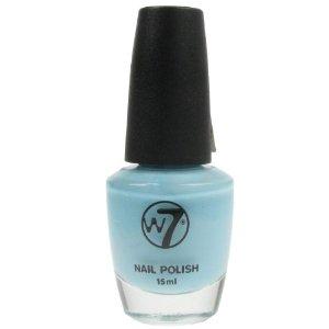 W7 Nail Polish Varnish - 62 Sheer Blue 15Ml New: Amazon.co.uk: Health & Personal Care