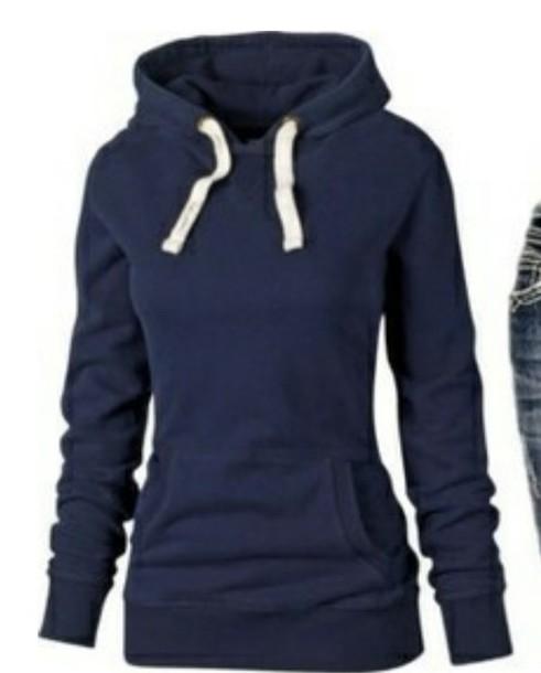 sweater blue pullover jacket hoodie blue hoodie