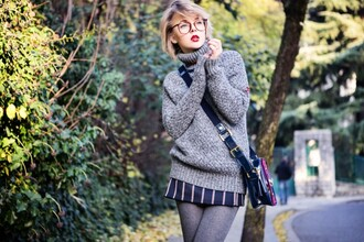 cablook sweater skirt bag shoes jewels