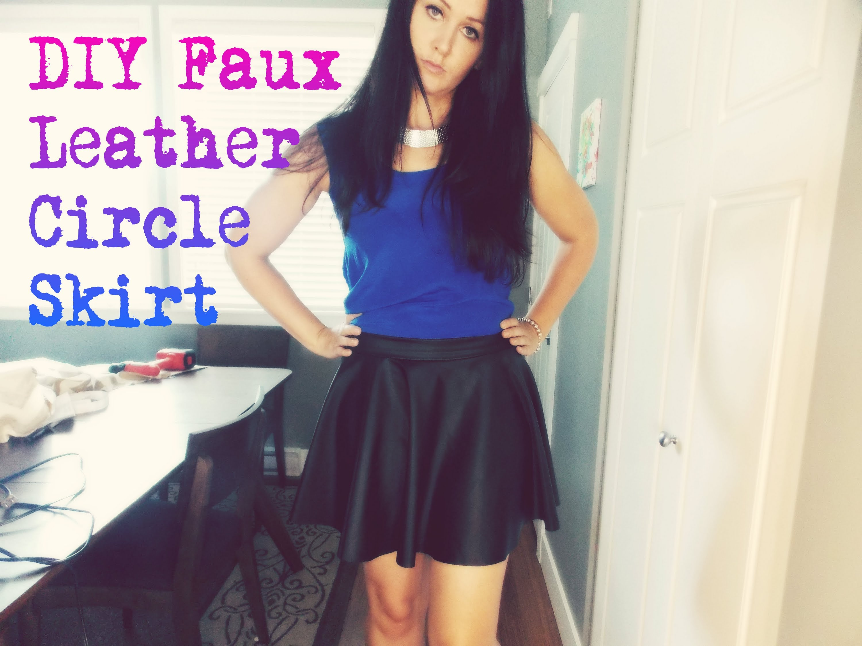 DIY Fashion: DIY Circle Skirt/Skater Skirt - YouTube