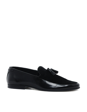 ASOS | ASOS Tassel Loafers in Leather at ASOS