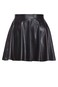 wet look flip skirt | Factorie
