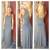 Charcoal Grey Open Side Modal Maxi Dress                             Dainty Hooligan Boutique
