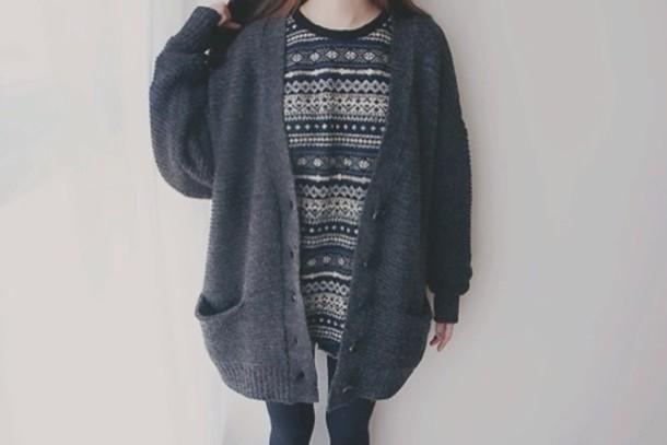 cardigan grey cardigan cozy
