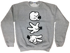 rock paper scissors mickey mouse sweater | eBay