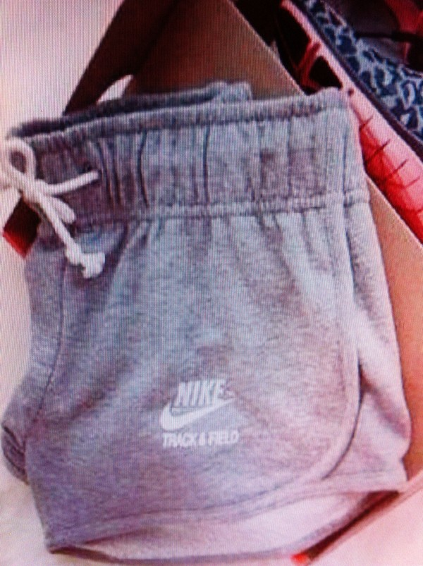 shorts grey shorts nike white track and field