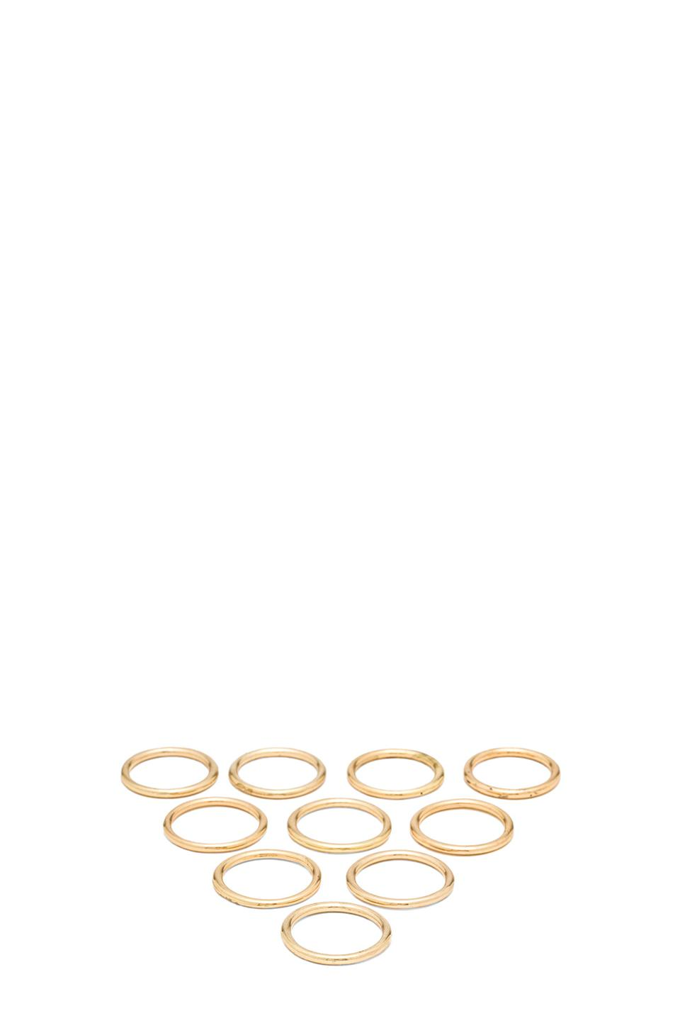 8 Other Reasons Easy E Rings in Gold | REVOLVE