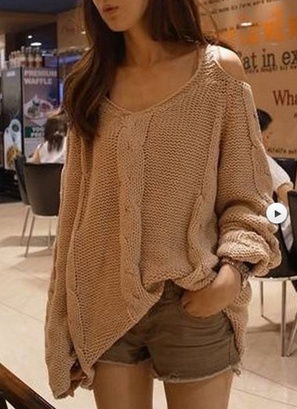 sweater oversized sweater winter sweater cute sweaters wool cotton asian ivory beige