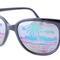 Tropicana-nc black  |  vintage mirrored sunglasses
