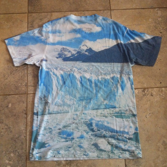 29% off Urban Outfitters Tops - Urban Outfitters Iceberg Printed T-shirt from Liam's closet on Poshmark