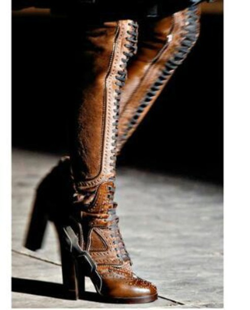 shoes over the knee boots lace up boots heel boots