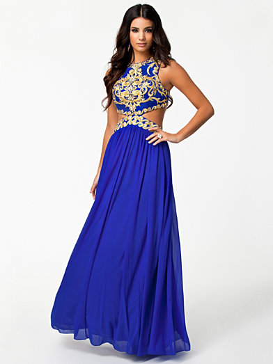 Laila Dress - Forever Unique - Blue - Party Dresses - Clothing - Women - Nelly.com