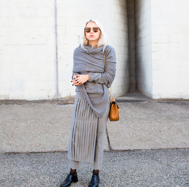always judging blogger top pants skirt bag scarf sunglasses shoes