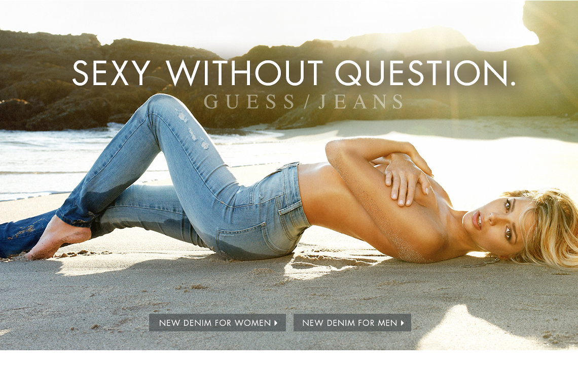GUESS | Jeans, Clothing & Accessories for Men and Women: Shop the Latest Fashion Trends at GUESS.