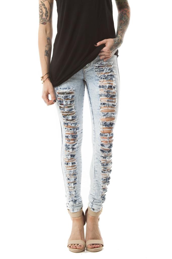 The Slasher Jeans in Light Wash – Wunderlust