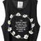 I'd rather wear flowers in my hair, than diamonds around my neck shirt top