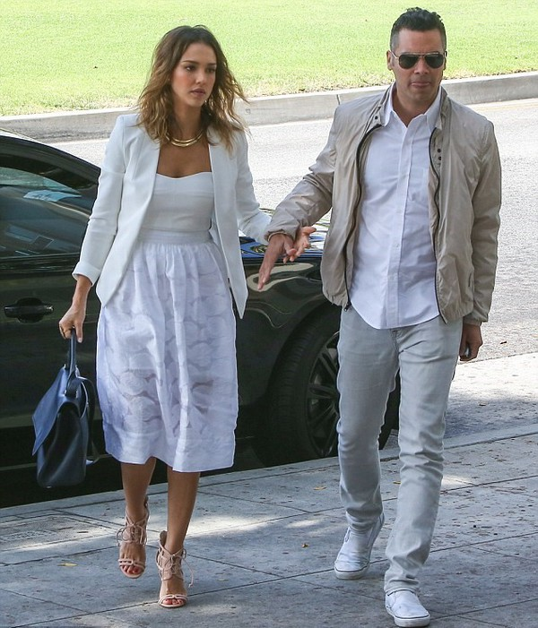 bag jessica alba shoes