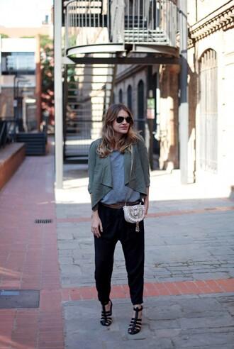 my daily style jacket belt shoes bag sunglasses