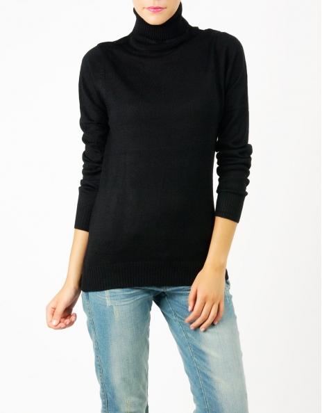 Jersey tricot cuello cisneisne manga larga basico : ROPA Jersey & Chaquetas