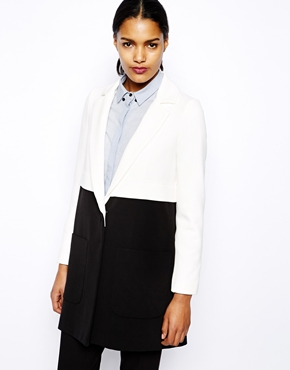River Island | River Island A Line Coat at ASOS