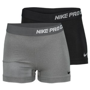 "Amazon.com: Nike Pro Combat Core 2.5"" Compression Short (Womens) - XL - Light Grey: Sports & Outdoors"