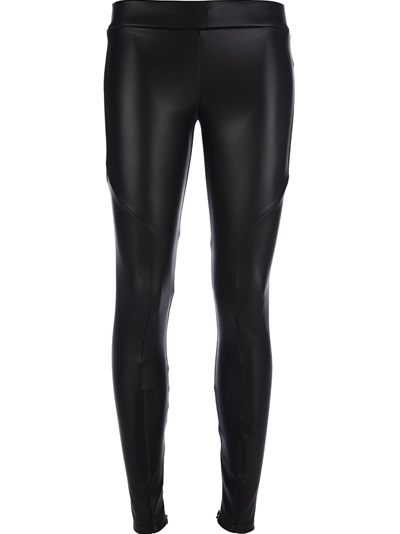 Msgm Ankle Zip Leggings - Di Pierro - Farfetch.com