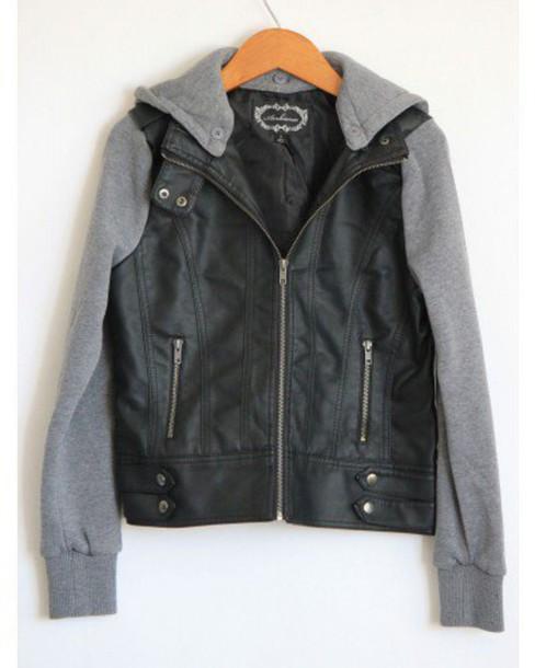 jacket sweatshirt hooded hooded jacket knit