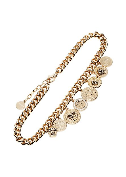"VERSACE | ""Icon"" Charms Single Chain Necklace 