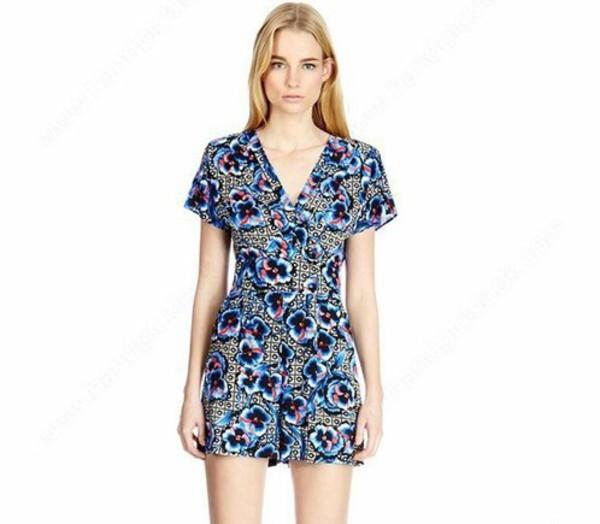 jumpsuit romper summer jumpsuit printed shorts summer shorts summer dress