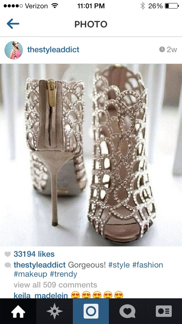 shoes gold sparkly heels