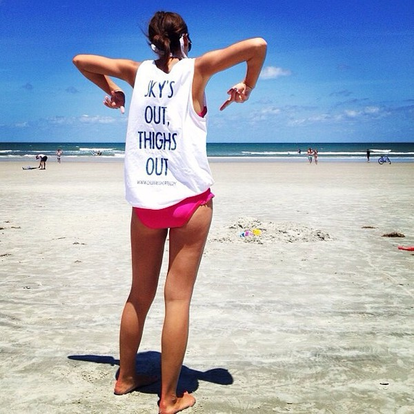 shirt thigh highs thighs thighsplit graphic crop tops graphic tee quote on it beach cover up black and white muscle tee swimwear
