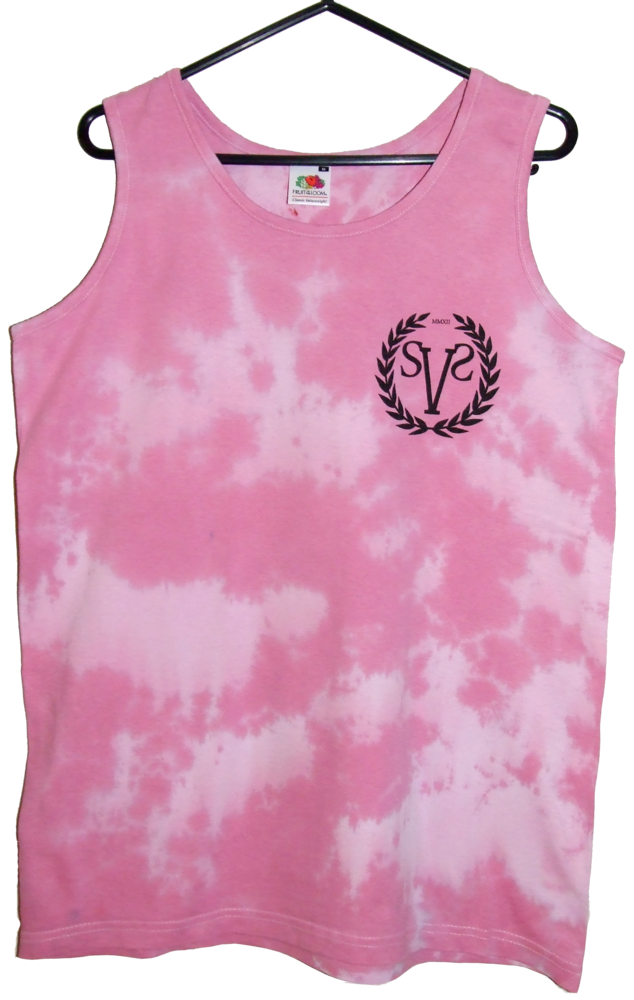 SVS Clothing | Pink Tie Dye Vest - UNIQUE - MEDIUM