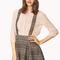 Crisp plaid overall skirt | forever21 - 2000071853
