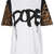 **Leopard Sleeve Dope T-Shirt by Illustrated People - Tops  - Clothing  - Topshop