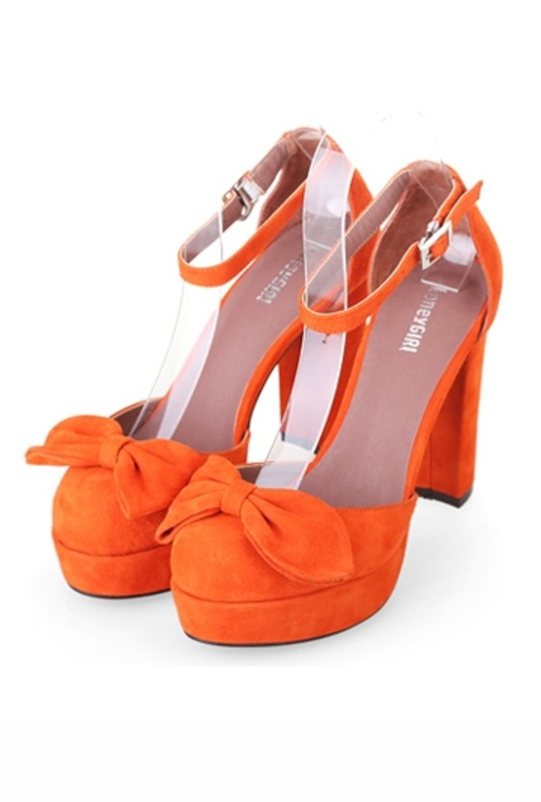 shoes orange heels orange persunmall heels heels persunmall shoes persunmallcom