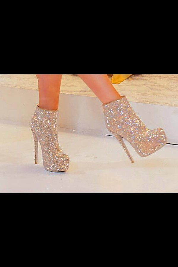 shoes heels sparkle high heels gold booties sparkle booties sparkle