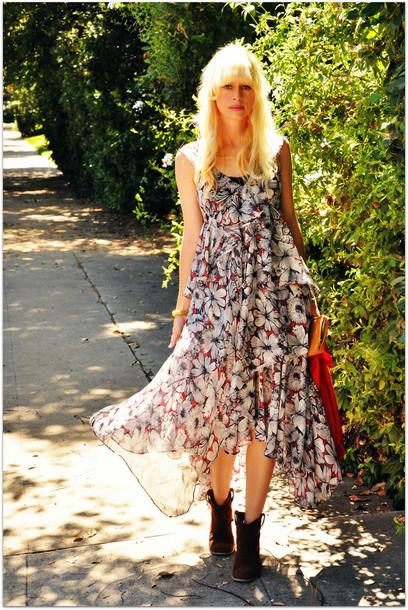fancy tree house maxi dress dress