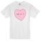 Pink heart t-shirt - basic tees shop