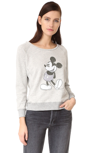 t-shirt fashion clothes david lerner mickey mouse raglan pullover french terry