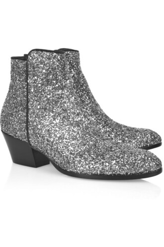 glitter boots shoes