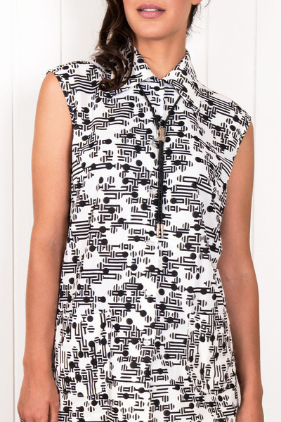 West End Printed Blouse                           | Citizen Collective
