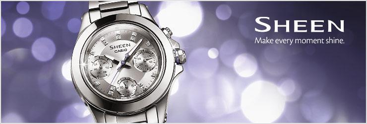 SHEEN - Relojes - Productos - CASIO