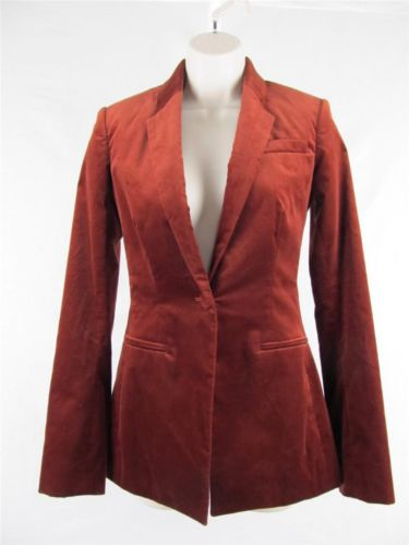 The Row Women's Rottley Jacket Blazer Brick Red Size 0 Retail $2000 | eBay