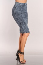 Blue Denim Stone Wash High Waist Sexy Pencil Skirt @ Amiclubwear Clothing Skirts Online Store:Long Skirt,Mini Skirts,Poodle Skirt,Plaid Mini Skirt,Micro Mini Skirt,Jeans Skirts,Black Mini Skirt,Up Skirt,Short Skirts,Leather Skirts,Pencil Skirts,High Waist