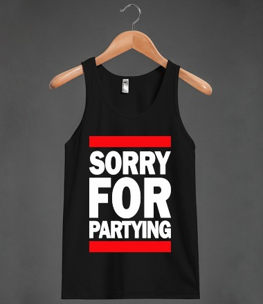 Sorry For Partying - Spring Breaker - Skreened T-shirts, Organic Shirts, Hoodies, Kids Tees, Baby One-Pieces and Tote Bags Custom T-Shirts, Organic Shirts, Hoodies, Novelty Gifts, Kids Apparel, Baby One-Pieces | Skreened - Ethical Custom Apparel