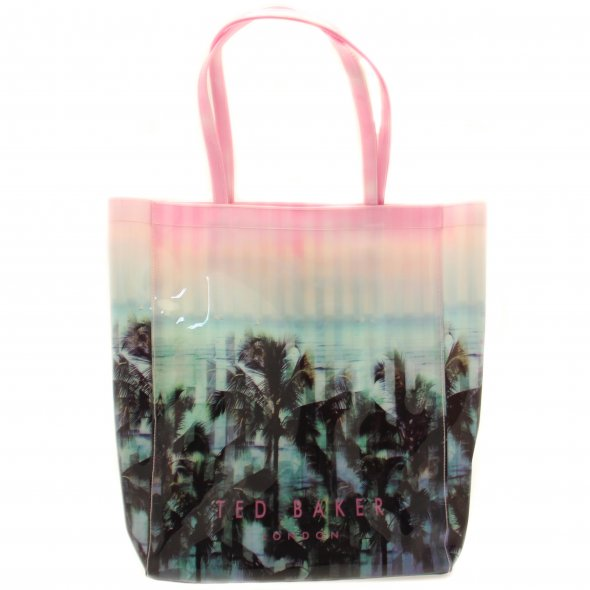 Buy Ted Baker Light Pink Digicon Printed Large Icon Bag at Hurleys