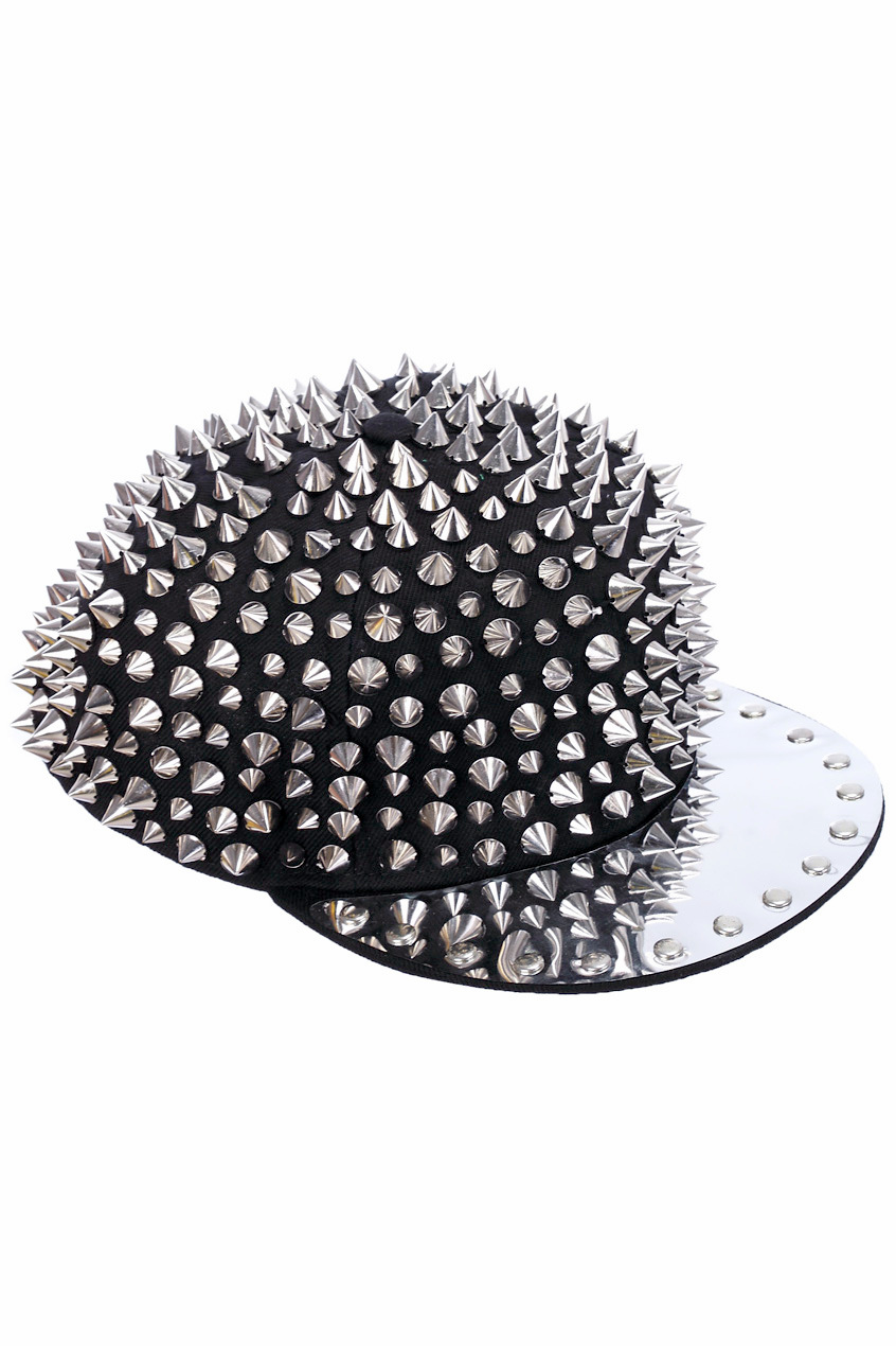 ROMWE   All-over Spike Cap, The Latest Street Fashion