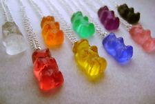 1x Gummy Bear Necklace Pendant Cute Kawaii Kitsch Sweet Candy | eBay