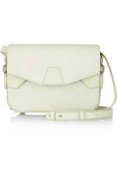 Tri-Fold glow-in-the-dark leather shoulder bag   THE OUTNET