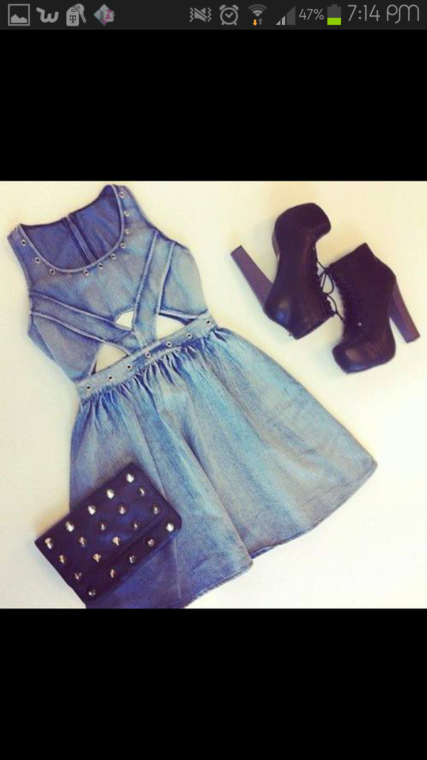 dress shoes jeans blue dress studs leather high heels